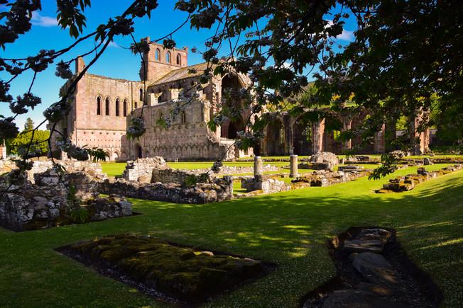 Melrose Abbey_1055