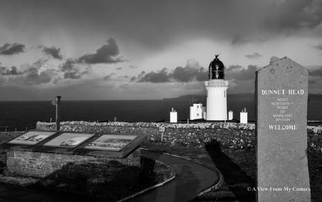 Dunnet Head Lighthouse, Caithness - (639