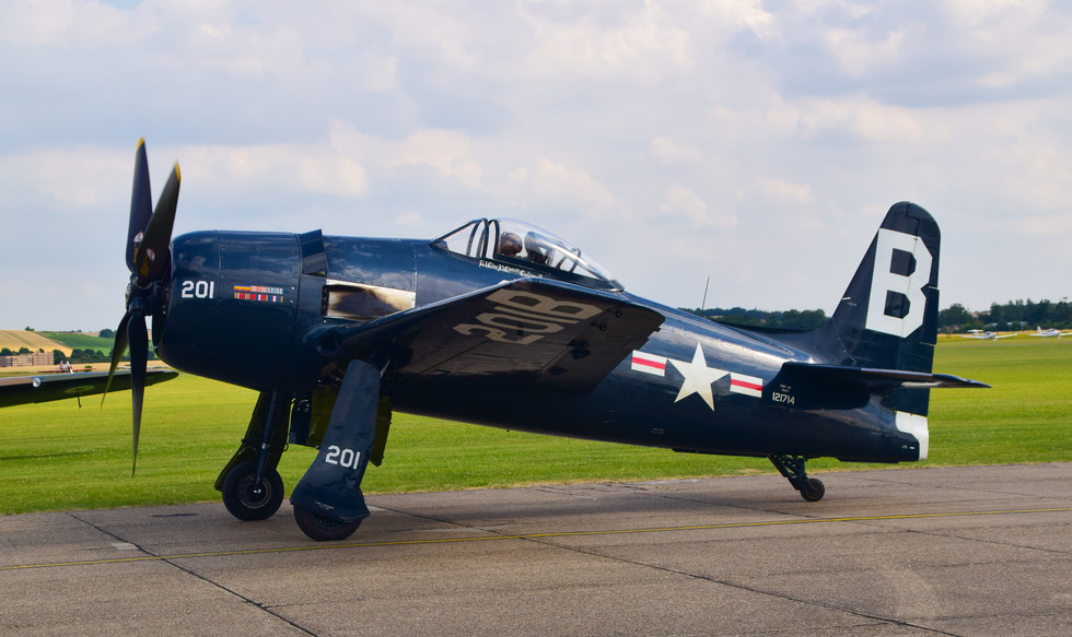 Grumman Bearcat F8F (G-RUMM) 201B (0783)