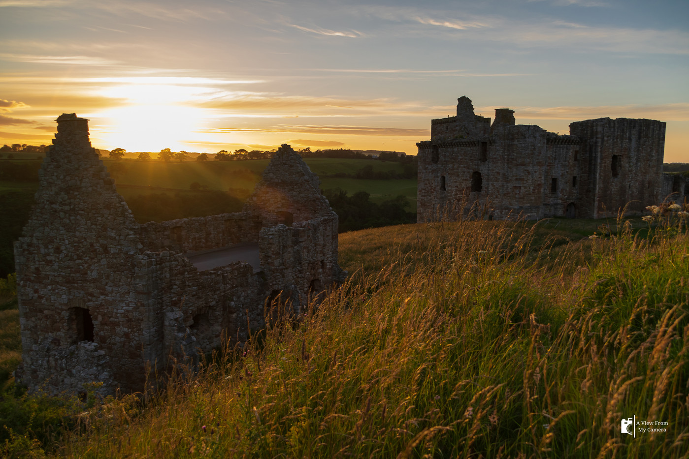 Crichton Castle-Sunset_0611