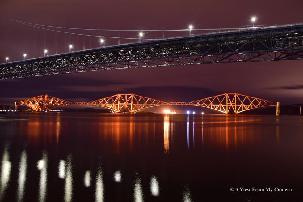 Forth Bridges, Port Edgar (5273)