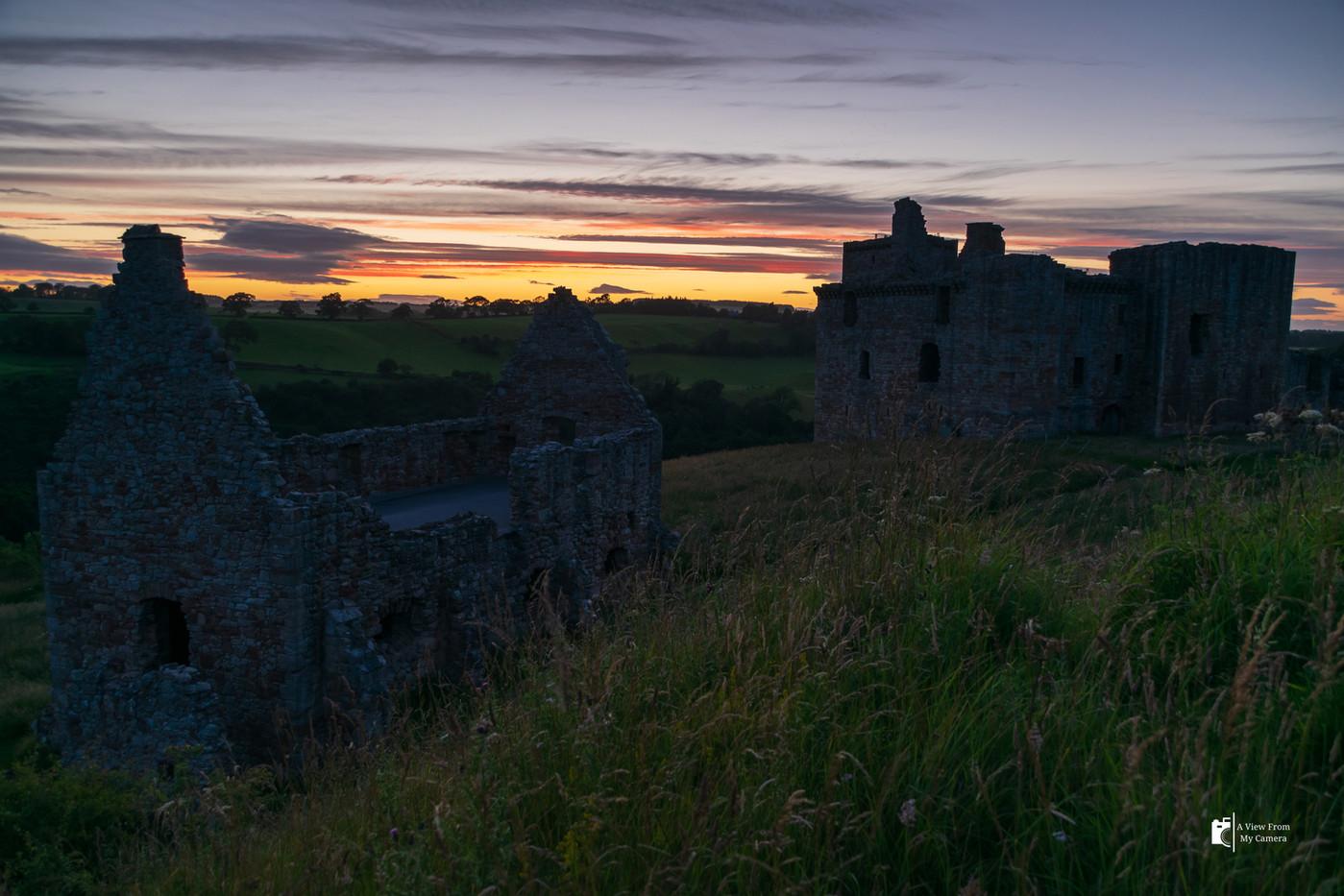 Crichton Castle-Sunset_0667