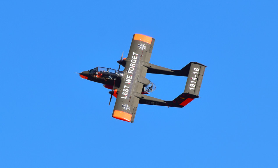 North American Rockwell 0V-10 Bronco, East Fortune (7309a)