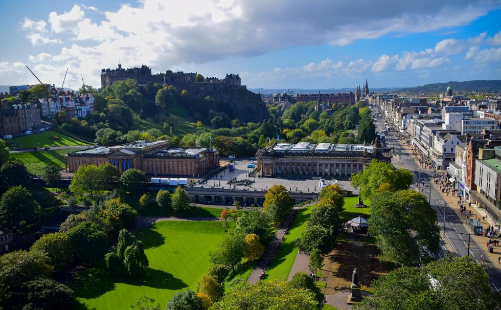 Princes Street Gardens from Scott Monument, Edinburgh (3686)