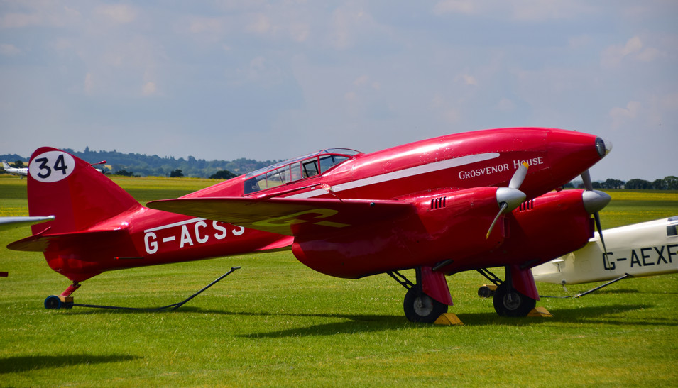 De Havilland DH.88 Comet G-ASS Grosvener House (9411)