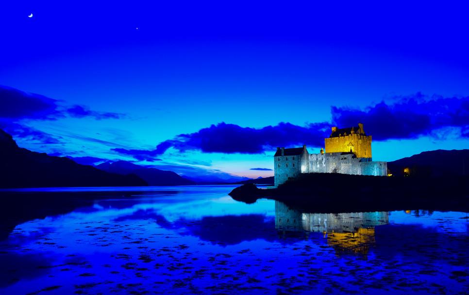 Eilean Donan Castle, Dornie (3555)