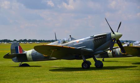 Supermarine Spitfire HF Mk IX G-BRSF RR232  City of Exeter (9390)
