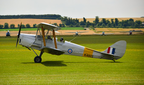 De Havilland DH-82A Tiger Moth Mk II R4922 (9407)