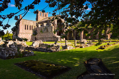 Melrose Abbey, Melrose (1055)