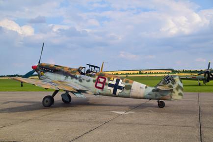 Bf109 Hispano Buchan (G-AWHK) (1036)