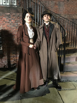 Victorian Man and Woman