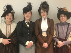 Victorian Woman and extras