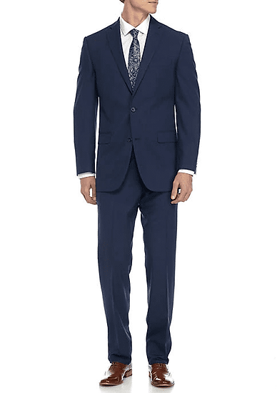 Ultra Slim Performance Blue Suit