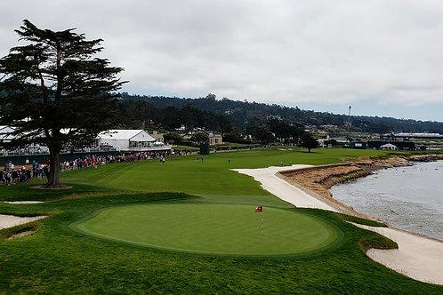 Pebble Beach Golf Course 18th green