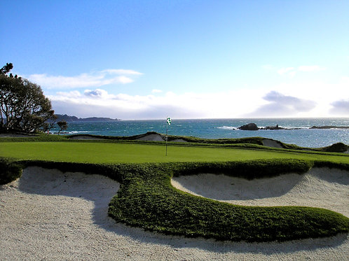 Pebble Beach Golf Course 4th green