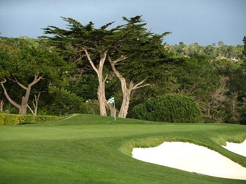 Pebble Beach Golf Course 1st green