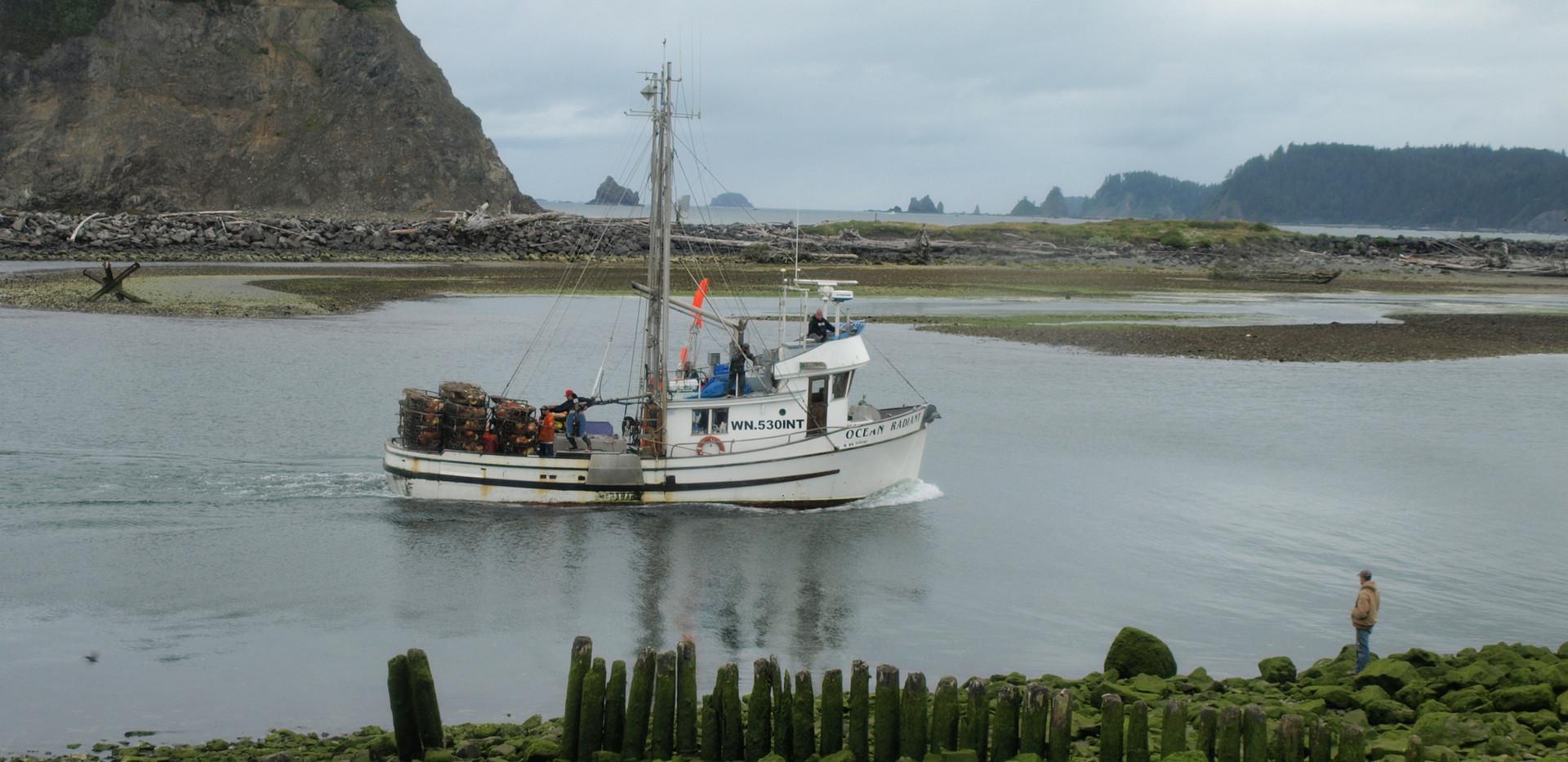 Washington fishing boat
