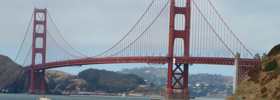 Baker Beach bridge view