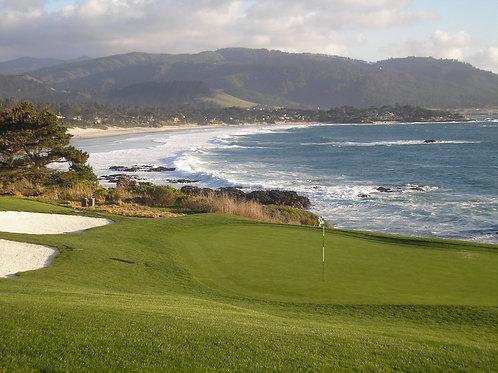 Pebble Beach Golf Course 8th green