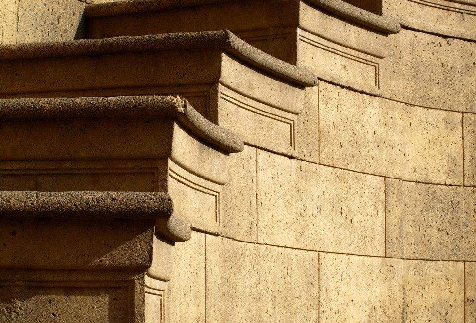 Palace of Fine Arts stairs