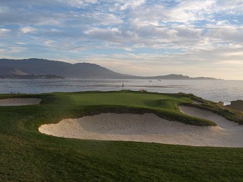 Pebble Beach Golf Course 7th green