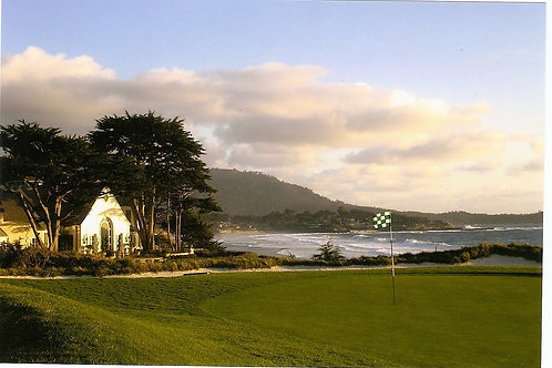 Pebble Beach Golf Course 10th green