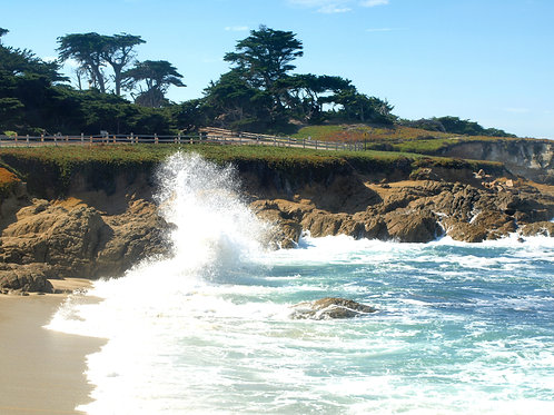 Pebble Beach surf