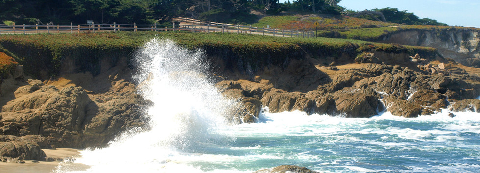Pebble Beach surf