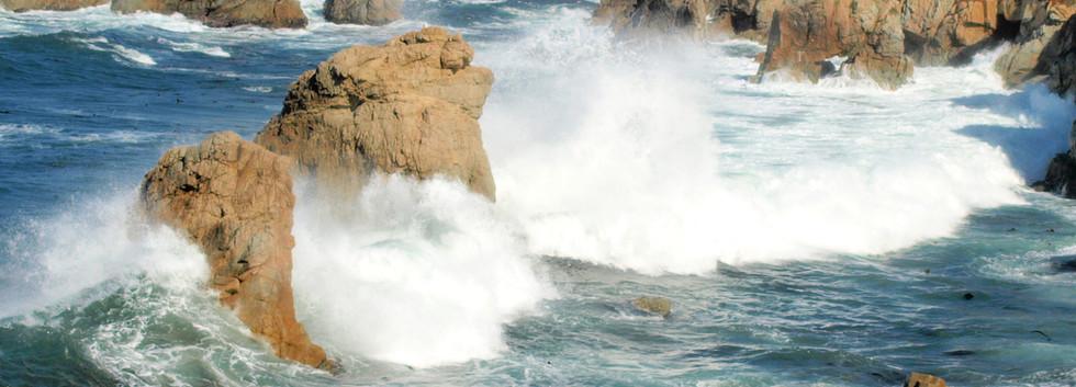 Big Sur surf