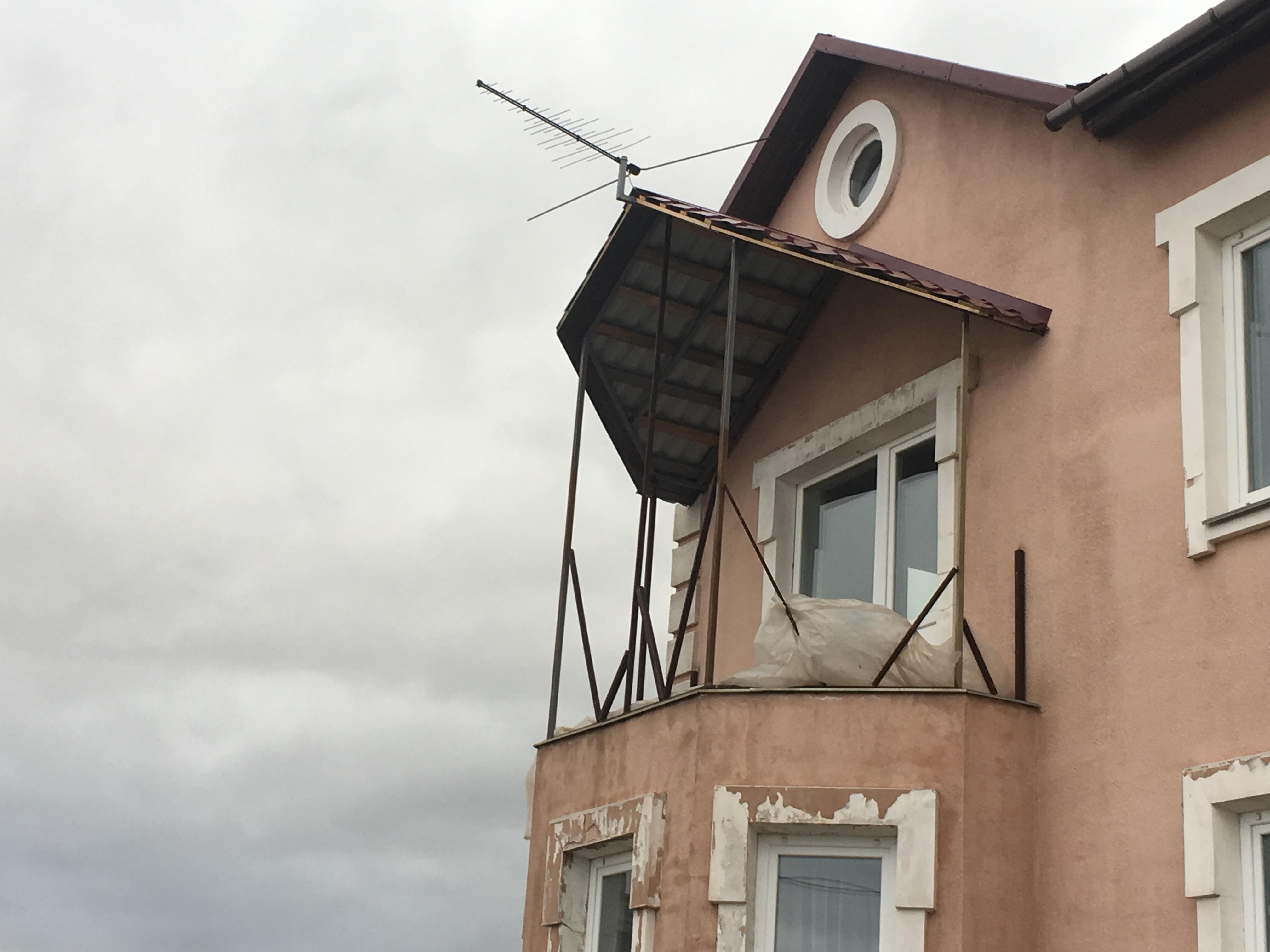 Балкон под остекление