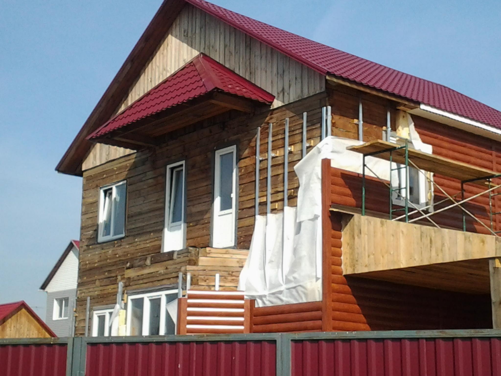 Остекление  дома ПВХ окна
