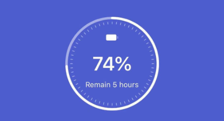 How do I know the battery status?
