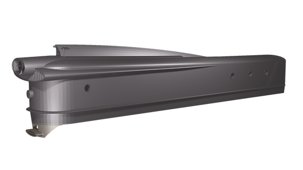 (O Scale) 600v3 Atomic Locomotive Shell
