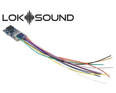 """ESU 58823 Loksound 5 Micro DCC Sound Decoder """"Generic Sound"""" Open Wires"""