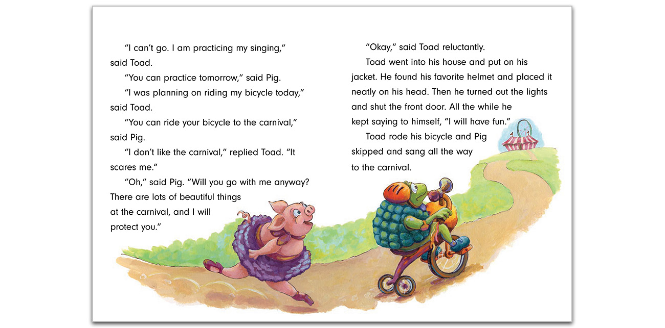 Book Design/Illustration: Pig & Toad