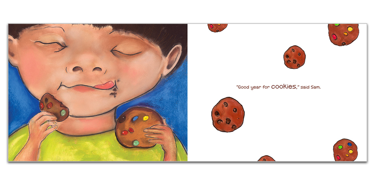 Book Design: The Cookie Garden