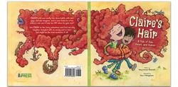Book Design/Illustrat: Claire's Hair