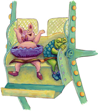 """""""Ferris Wheel"""" from Pig & Toad: Best Friends Forever"""
