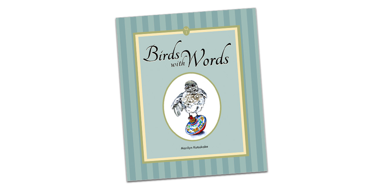 Book Design: Birds with Words