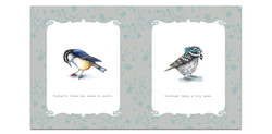 Book Design: Birds with Words