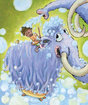 """Mammoth Bathtime"""