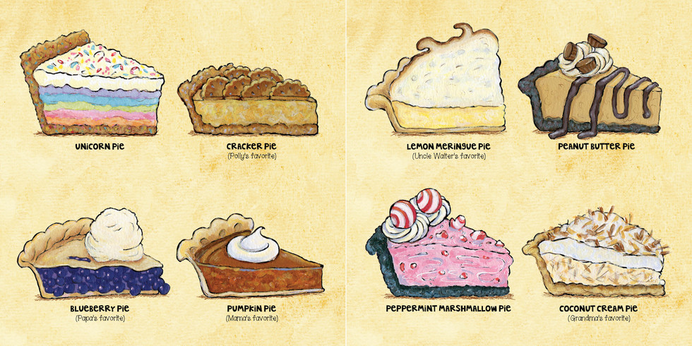 """""""Pies"""" from Too Many Pies"""