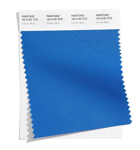 Pantone 18-4140 French Blue