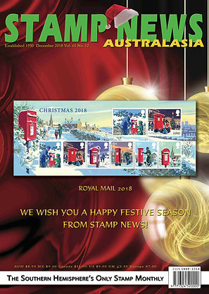 Stamp News Australasia Magazine 6512 Dec