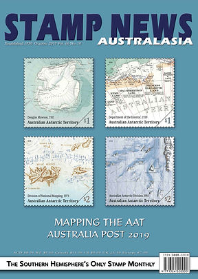 Stamp News Australasia Magazine 6610 Oct