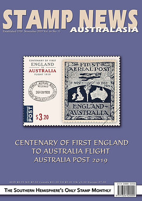 Stamp News Australasia Magazine 6611 Nov