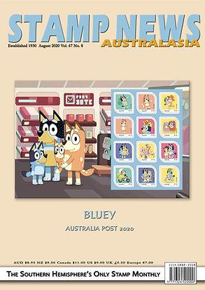 Stamp News Australasia Magazine 6708 Aug
