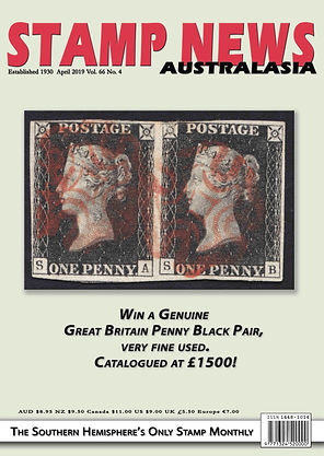 Stamp News Australasia Magazine 6604 Apr