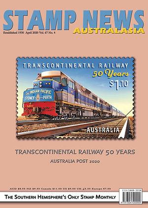 Stamp News Australasia Magazine 6704 Apr
