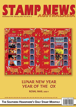 Stamp News Australasia Magazine 6802 Feb